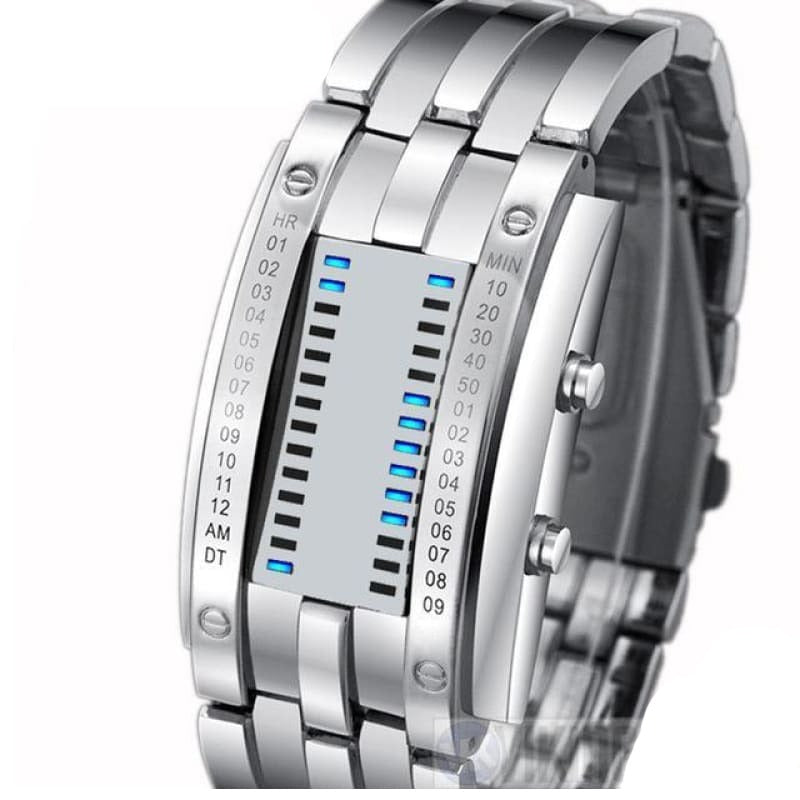 VIKING WATCH - BJORN - Silver Large - watch