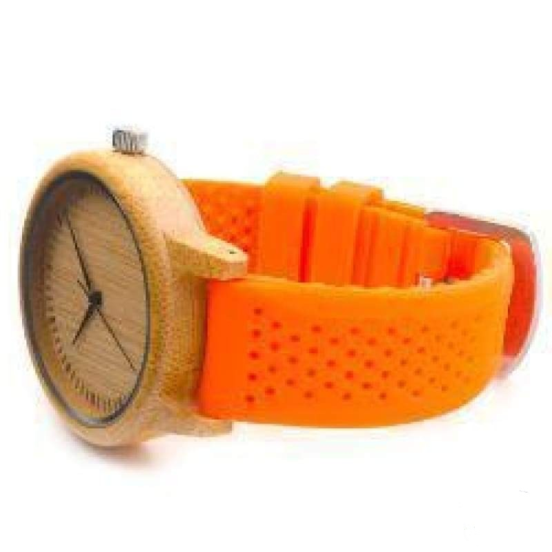VIKING WATCH - FLEX - Orange - watch