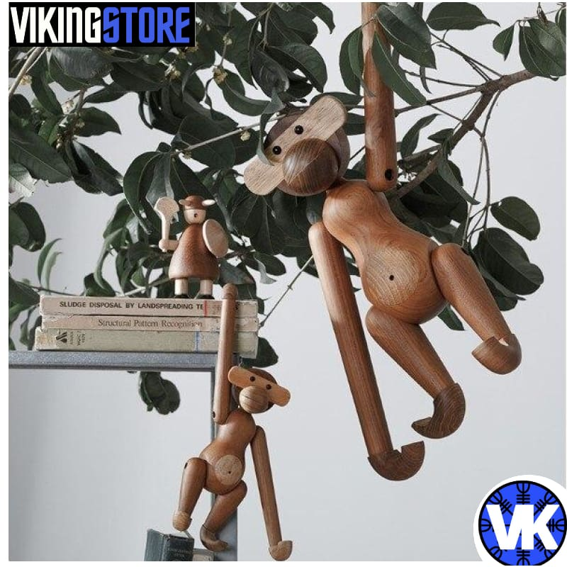 VIKING WOODEN STATUE - 200044142