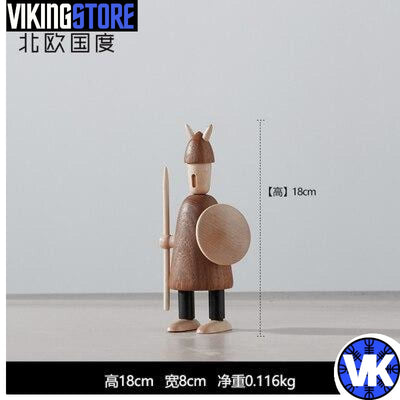 VIKING WOODEN STATUE - A - 200044142