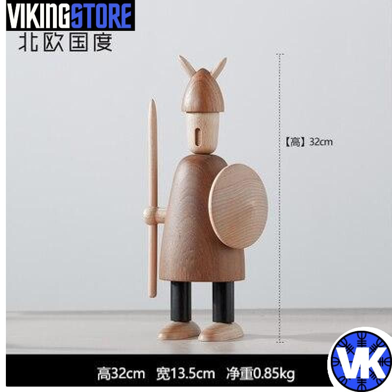 VIKING WOODEN STATUE - B - 200044142