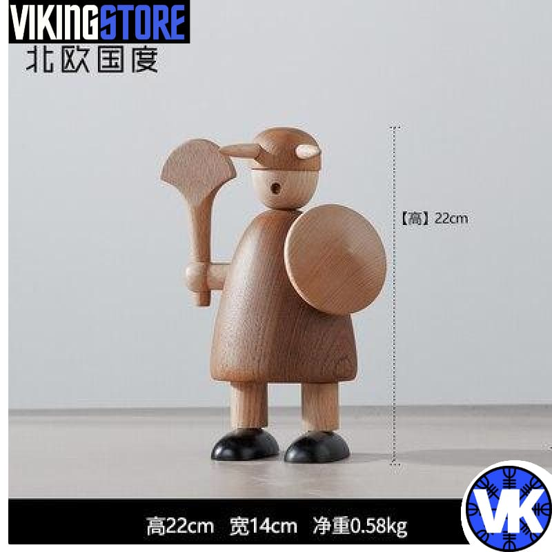 VIKING WOODEN STATUE - D - 200044142