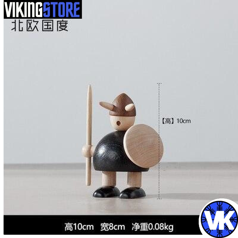 VIKING WOODEN STATUE - E - 200044142