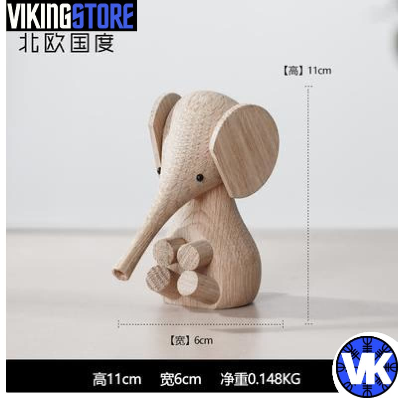 VIKING WOODEN STATUE - J - 200044142