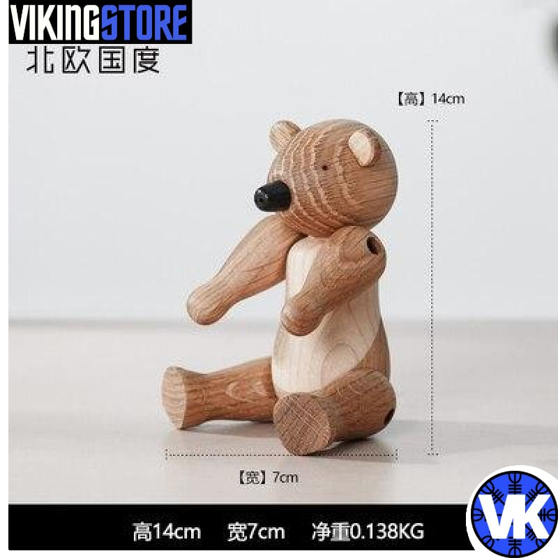 VIKING WOODEN STATUE - K - 200044142