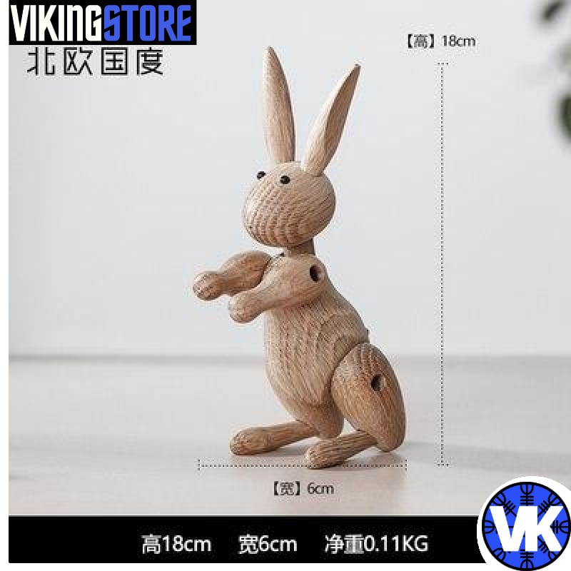 VIKING WOODEN STATUE - L - 200044142