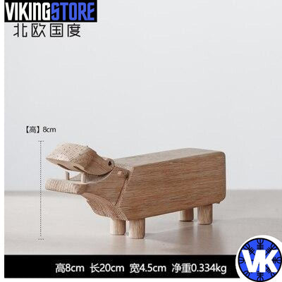 VIKING WOODEN STATUE - M - 200044142