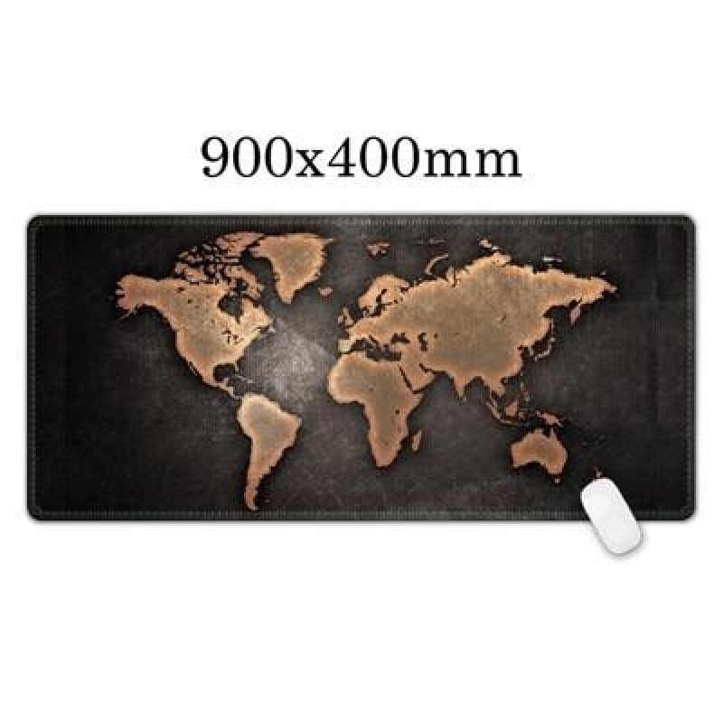 World Map mouse pad - Midgard - Midgard Map - mouse pad