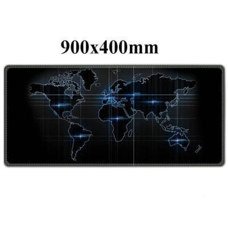 World Map mouse pad - Midgard - Night Vision - mouse pad