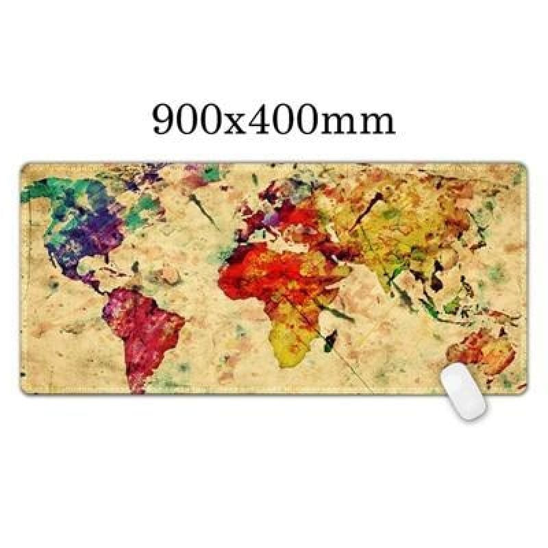 World Map mouse pad - Midgard - Old Midgard - mouse pad