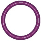 13326-10 Purple HNBR -014 O-ring 10 pack - Supercool Professional AC Products