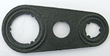 420F-10 Foamet® Style Manifold To Exp. Valve Metal Gasket 10 pack - Supercool Professional AC Products