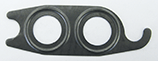 430-10 A590 / C171 Suction / Discharge Port Metal Gasket 10 pack - Supercool Professional AC Products