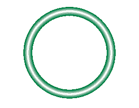 568-016-10 Green HNBR O-ring 10 pack - Supercool Professional AC Products