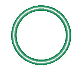 568-017-10 Green HNBR O-ring 10 pack - Supercool Professional AC Products