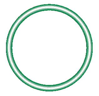 568-020-10 Green HNBR O-ring 10 pack - Supercool Professional AC Products