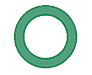 568-105-10 Green HNBR O-ring 10 pack - Supercool Professional AC Products