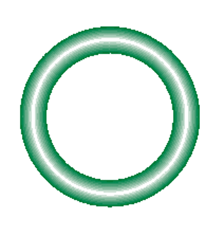 568-112-10 Green HNBR O-ring 10 pack - Supercool Professional AC Products