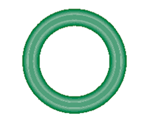 568-1124-10 Green HNBR O-ring 10 pack - Supercool Professional AC Products