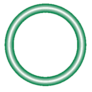 568-117-10 Green HNBR O-ring 10 pack - Supercool Professional AC Products