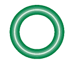 568-902-10 Green HNBR O-ring 10 pack - Supercool Professional AC Products