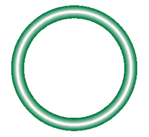 568-910-10 Green HNBR O-ring 10 pack - Supercool Professional AC Products