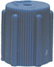 614-10 Standard R-134a Blue Low Side Cap 10 pack - Supercool Professional AC Products