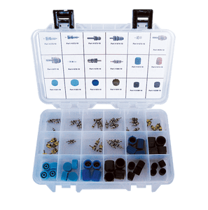 61655 Universal Valve Core and Cap Assortment - Supercool Professional AC Products