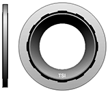 "638-10 5/8"" Thick Black Compressor Washer 10 pack - Supercool Professional AC Products"