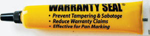 64779 Warranty Seal® Tamper Evident Markers Yellow (12 pack) -- RoHS Certified - Supercool Professional AC Products
