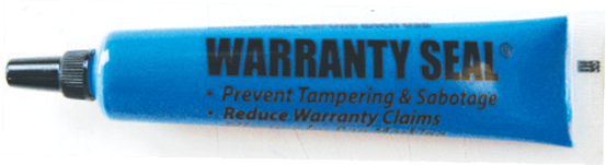 64908 Warranty Seal® Tamper Evident Markers Blue (12 pack) - Supercool Professional AC Products