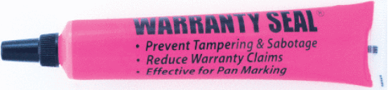 66988 Warranty Seal® Tamper Evident Markers Pink (12 pack) - Supercool Professional AC Products