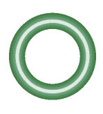 M2106-10 Green HNBR O-ring 10 pack - Supercool Professional AC Products