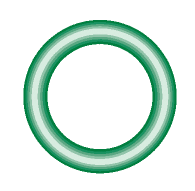 M2112-10 Green HNBR O-ring 10 pack - Supercool Professional AC Products
