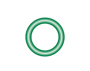 M2114-10 Green HNBR O-ring 10 pack - Supercool Professional AC Products