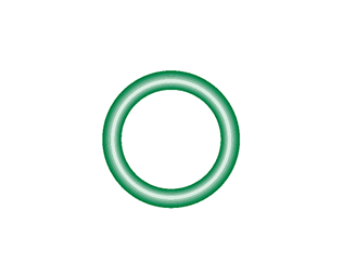 M2116-10 Green HNBR O-ring 10 pack - Supercool Professional AC Products