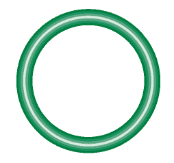 M2128-10 Green HNBR O-ring 10 pack - Supercool Professional AC Products