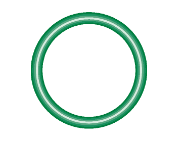 M2135-10 Green HNBR O-ring 10 pack - Supercool Professional AC Products