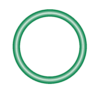 M2138-10 Green HNBR O-ring 10 pack - Supercool Professional AC Products