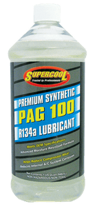 P100-32 (6 Pack) R-134a PAG 100 Compressor Oil 32oz. (1L) - Supercool Professional AC Products