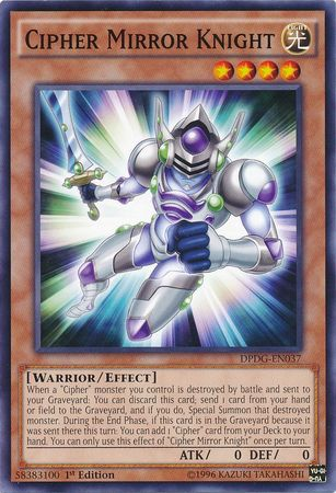 Cipher Mirror Knight - DPDG-EN037 - Common 1st Edition