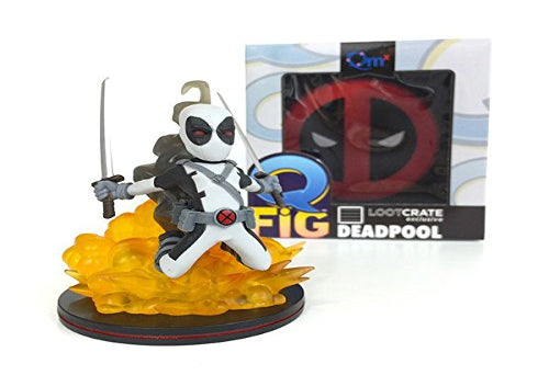 Deadpool Q-FIG Rare Grey Variant