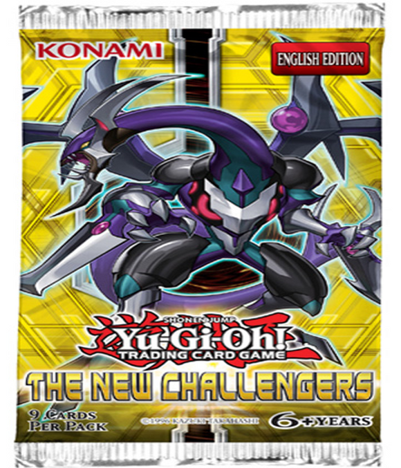 YU-GI-OH! TCG The New Challengers Booster Pack