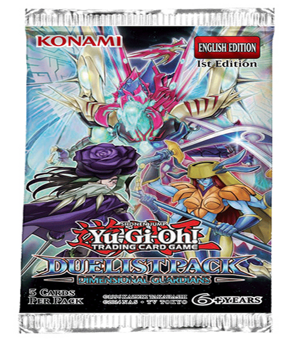 YU-GI-OH! TCG Dimensional Guardians Duelist Booster Pack