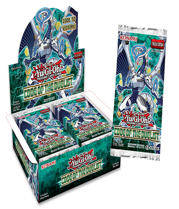 YU-GI-OH! TCG Code of the Duelist Booster Pack