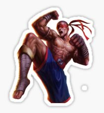 MUAY THAI LEE SIN Vinyl Sticker