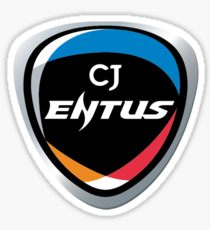 CJ ENTUS Vinyl Sticker