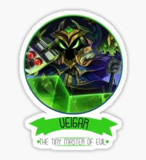 FINAL BOSS VEIGAR Vinyl Sticker