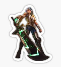 REDEEMED RIVEN Vinyl Sticker