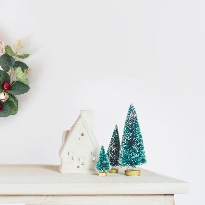 Happy DIY tutorial: kerstkrans in Scandinavische stijl